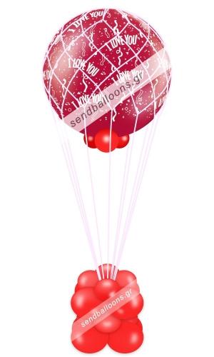 Μπαλόνι αερόστατο αγάπης love