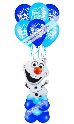 Φιγούρα μπαλόνι Olaf