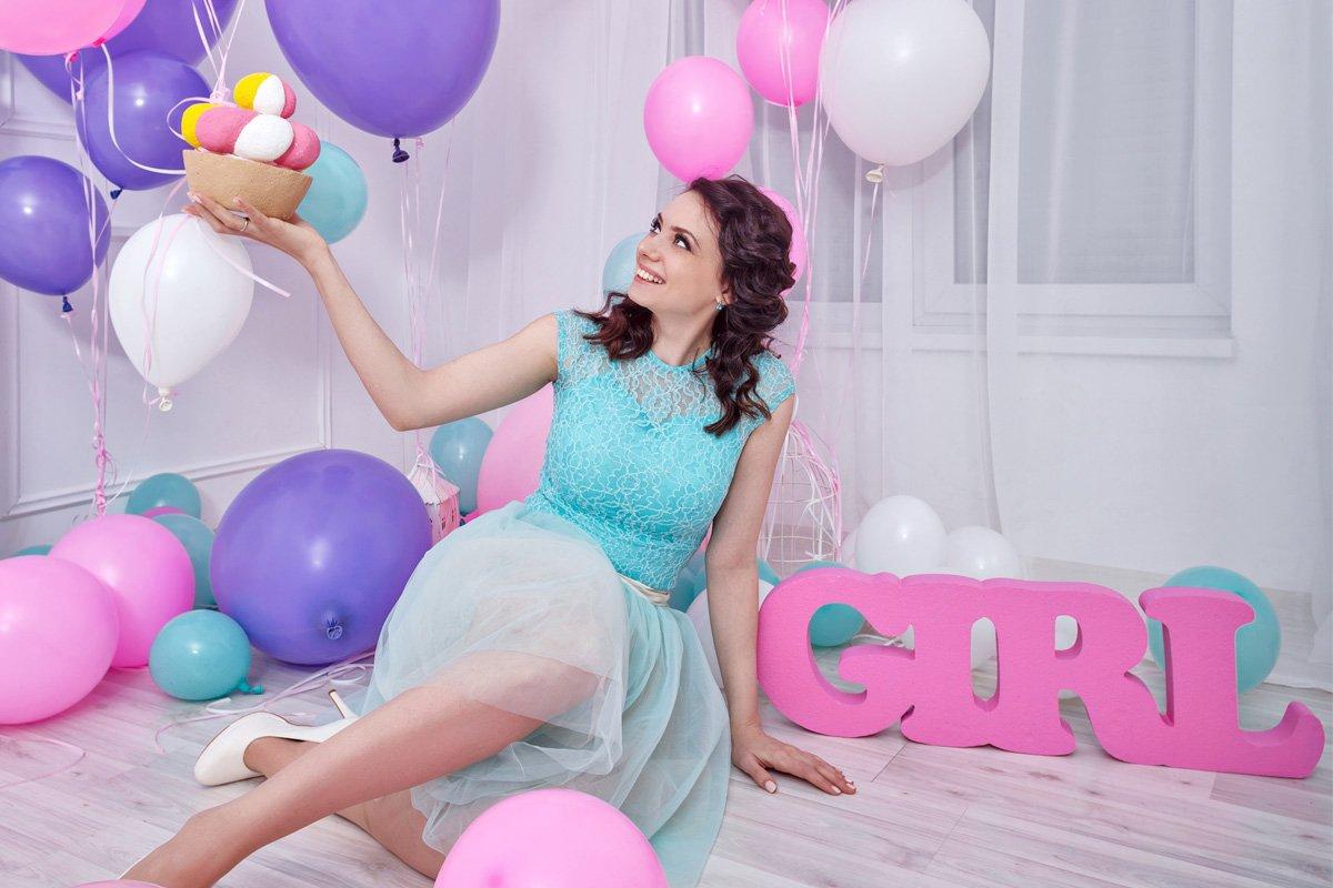 Μπαλόνια γέννησης για αγόρια και κορίτσια