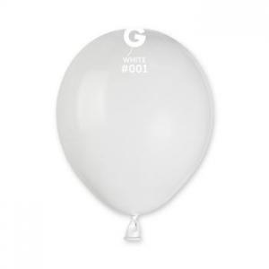 Μπαλόνι άσπρο 5 ιντσών