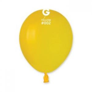 Μπαλόνι κίτρινο 5 ιντσών
