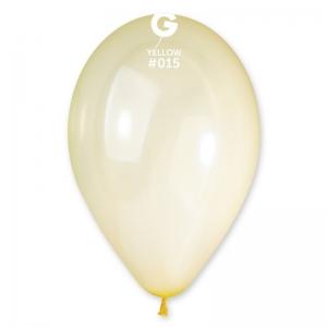 Μπαλόνι κίτρινο διαφανές 13 ιντσών