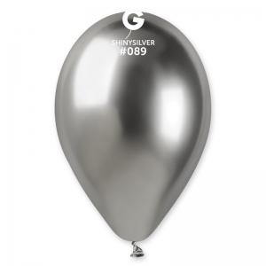 Μπαλόνι λαμπερό ασημί 13 ιντσών