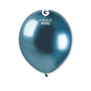 Μπαλόνι λαμπερό μπλε 5 ιντσών
