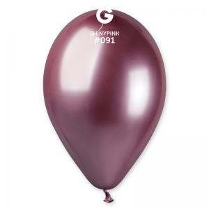 Μπαλόνι λαμπερό ροζ 13 ιντσών