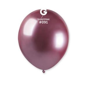 Μπαλόνι λαμπερό ροζ 5 ιντσών
