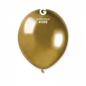 Μπαλόνι λαμπερό χρυσό 5 ιντσών