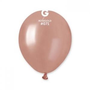 Μπαλόνι ροζ χρυσό 5 ιντσών