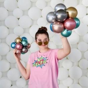 Μπαλόνια μονόχρωμα 5 ιντσών